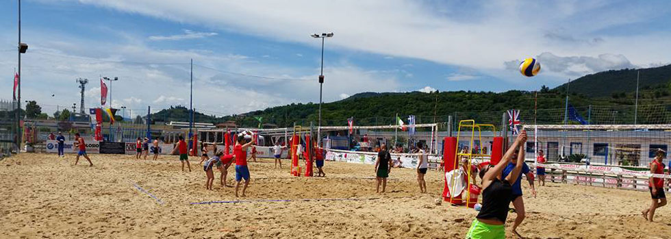 beach volley arena