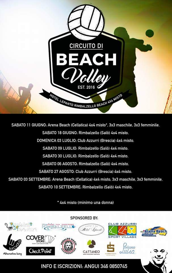 circuito beach volley
